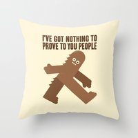 Surefooted Throw Pillow