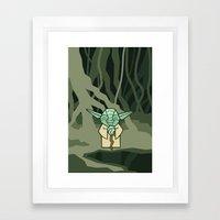 EP5 : Yoda Framed Art Print