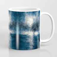 Paisaje Y Color (azul) Mug