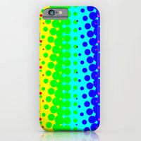 iPhone & iPod Case featuring RAINBOW COLOR DOT by Mr.DOT