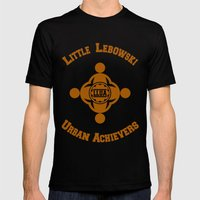 Little Lebowski Urban Achievers  |  The Big Lebowski Mens Fitted Tee Black SMALL