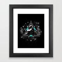 Time & Space Framed Art Print