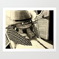 Mighty Manfred in Shanghai Saloon Art Print