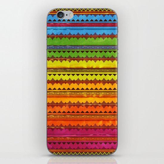 Hippie Style Pattern iPhone & iPod Skin