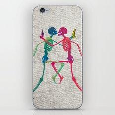 Skeleton Crush with Banana n Gun iPhone & iPod Skin