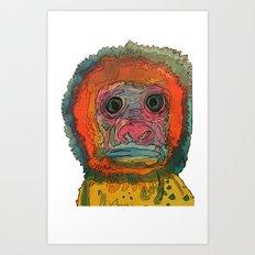 monki Art Print