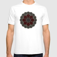 cirquedumonet #2 Mens Fitted Tee White SMALL