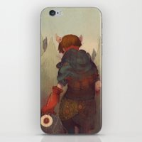 Dumb Little Secrets iPhone & iPod Skin