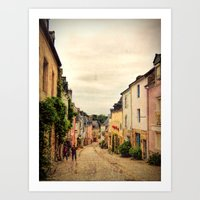 Auray France Art Print