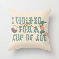 Cup O' Joe Throw Pillow