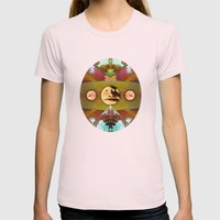 Speak Womens Fitted Tee Light Pink SMALL
