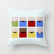 Enterprise 1701 - Minima… Throw Pillow