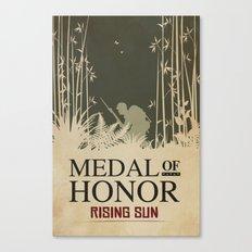 Medal of Honour - Rising Sun Canvas Print