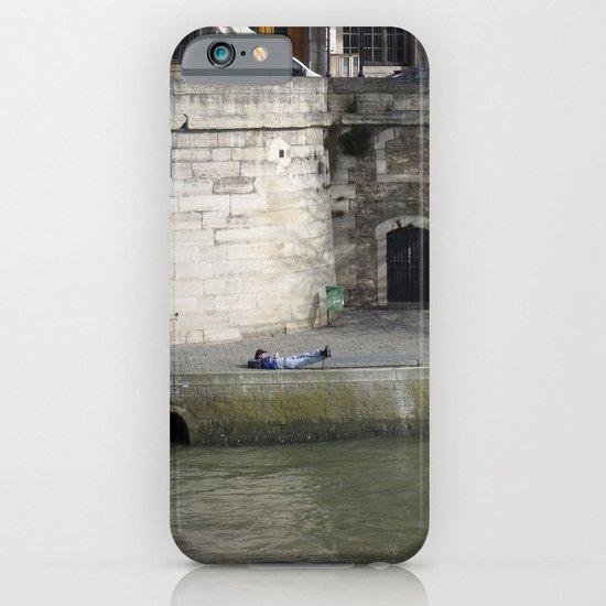 Naptime in Paris iPhone & iPod Case