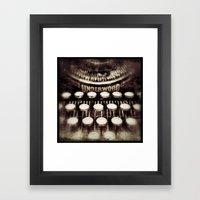 A Lost Art Framed Art Print