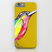 iPhone & iPod Case featuring Colour bird by teresaferreira