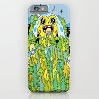 iPhone & iPod Case featuring The Monster of Skate Forest by Frenemy