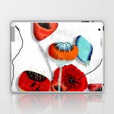 Ranunculus Poppies Anemone Bouquet Laptop & iPad Skin