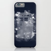 iPhone Cases featuring Tardis by Zach Terrell