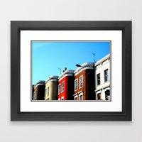 Lavender Hill Framed Art Print
