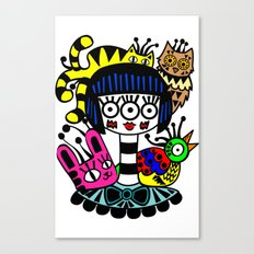 imaginary friends Canvas Print