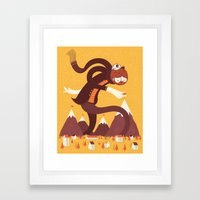 Best Alpinist Ever Framed Art Print