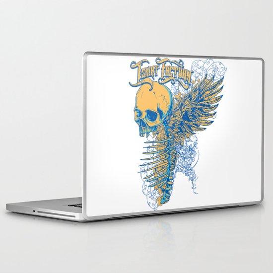 Winged skeleton  Laptop & iPad Skin