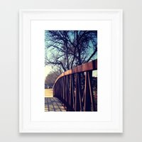 To the Other Side Framed Art Print