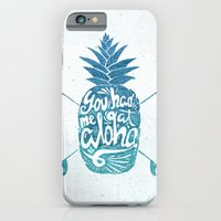 iPhone Cases featuring You had me at Aloha! by Ocean Ave // Lettering and Design