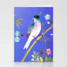 the elusive blue of a summer's twilight Stationery Cards