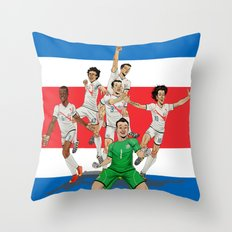 Ticos Throw Pillow