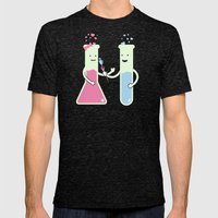 They Have Chemistry  Mens Fitted Tee Tri-Black SMALL