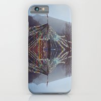 iPhone & iPod Case featuring Flag Mountain by lisk