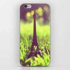 The Eiffel Tower in my backyard iPhone & iPod Skin