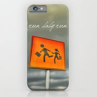 iPhone & iPod Case featuring Run baby run!!! by Roboz