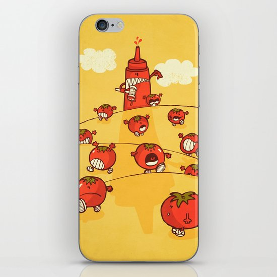 We were tomatoes! iPhone & iPod Skin