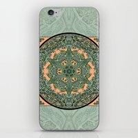 Leaf and Branch Verdigris iPhone & iPod Skin