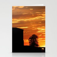 Castle Sunset  - JUSTART © Stationery Cards