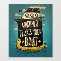 Quotes Canvas Print