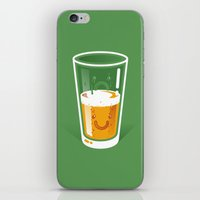 Pessimistic Optimist iPhone & iPod Skin