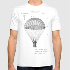 Falling, With Style Mens Fitted Tee White SMALL