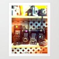 Camera Shop Art Print