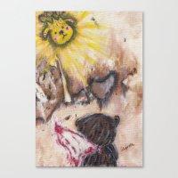 Angelbaby Canvas Print