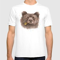 Sailor Bear II Mens Fitted Tee White SMALL