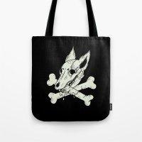 Dog & Crossbones Tote Bag