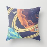 Throw Pillow featuring Space! by Timothy J. Reynolds