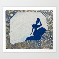 Olga Retrograde Art Print
