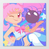 Chibi Usa Canvas Print