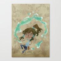 Chibi Korra Canvas Print