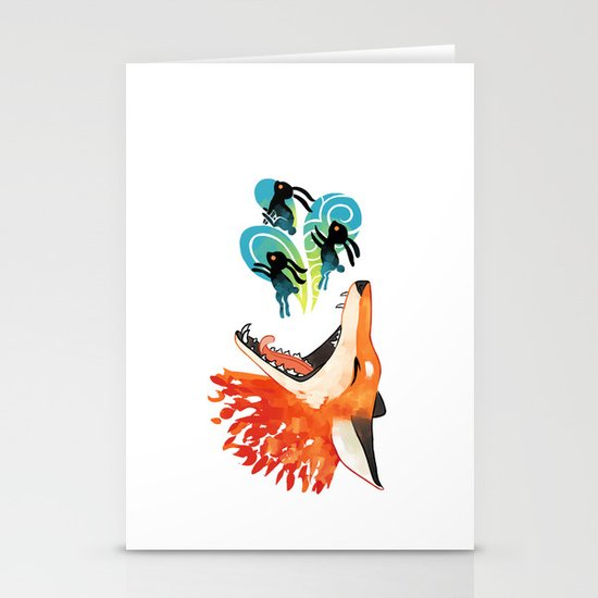 The Hunt Stationery Card